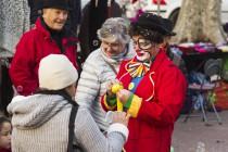 Clown de rue Enfant Pau